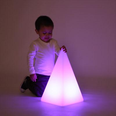 Sensory Mood Light Pyramid - 480mm - CD75550