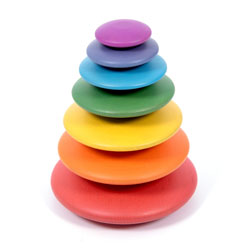 Rainbow Buttons - Set of 7