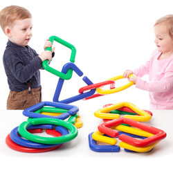 Giant Linking Shapes - Set of 16