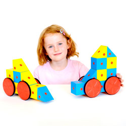 3D Magnetic Blocks Set - Set of 20