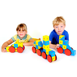 3D Magnetic Blocks Large Set - Set of 40