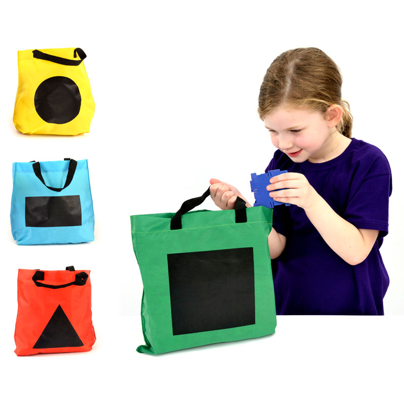 Shape Sorting Bags - Set of 4 Bags - EA-52