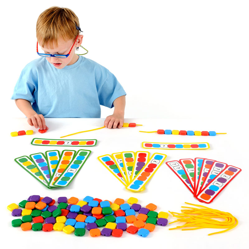 Lacing Colour Sequence Beads Set - EA-45