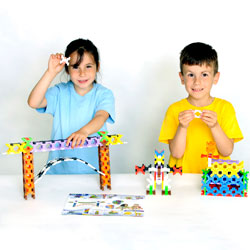 Incastro Building Set - Set of 250 Pieces