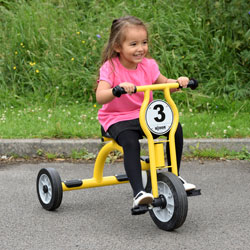 Wisdom Large Trike - For Ages 4-8