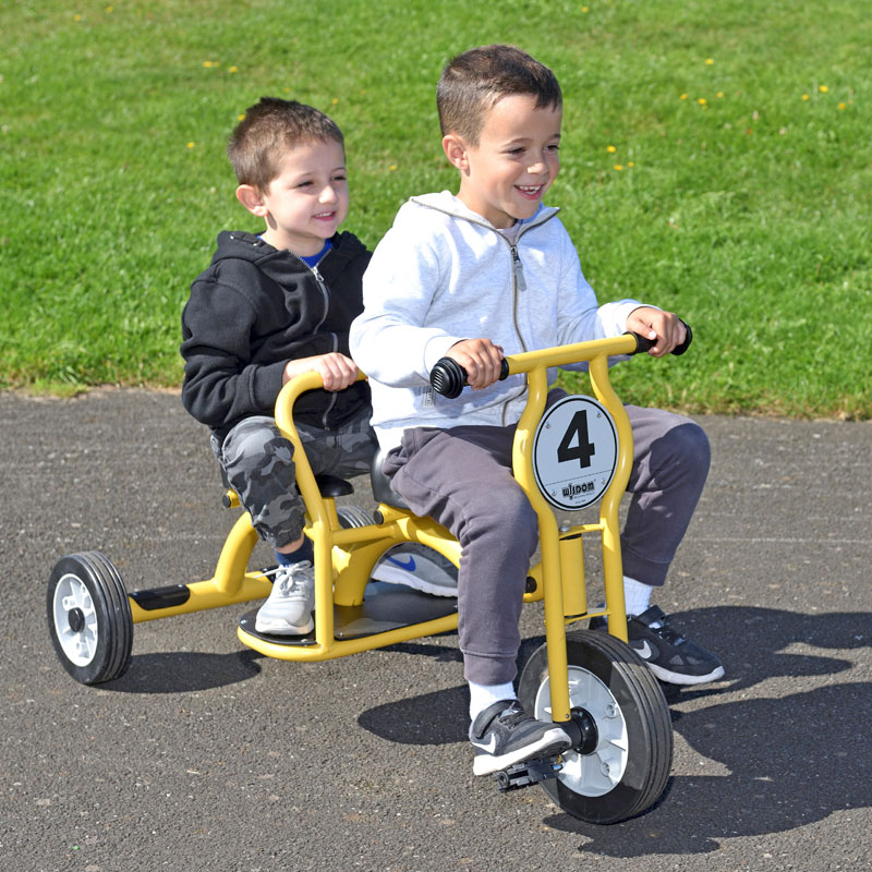 Wisdom Tandem Trike - For Ages 4-8 - W-13