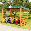 Wisdom Outdoor Parking Shelter - Supplied Flat Packed