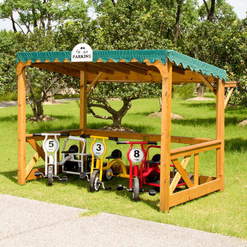 Wisdom Outdoor Parking Shelter - Supplied Flat Packed - W-62