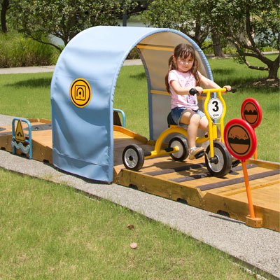 Wisdom Large Outdoor Trike Obstacle Course - W-64