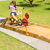 Wisdom Outdoor Trike Obstacle Course