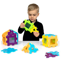 My First Polydron Windows Set - Set of 24 Pieces
