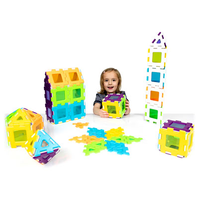 My First Polydron Windows Class Set - Set of 72 Pieces - 95-3110