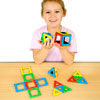 Magnetic Polydron Set - Set of 32 Pieces
