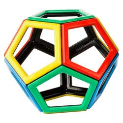 Magnetic Polydron Pentagon Set - Set of 12 Pieces