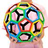 Magnetic Polydron Carbon 60 Set - Set of 32 Pieces