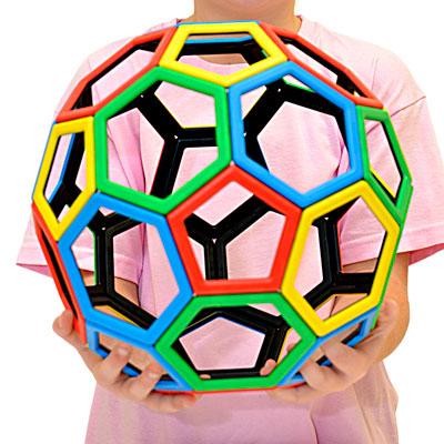 Magnetic Polydron Carbon 60 Set - Set of 32 Pieces - 50-3605