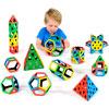 Magnetic Polydron School Set - Set of 224 Pieces
