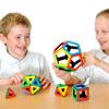 Magnetic Polydron Platonic Solids Set - Set of 50 Pieces