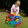 Giant Polydron Pentagon Set - Set of 12 Pieces - 70-7005