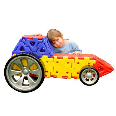 Giant Polydron Vehicle Builder Set - Set of 32 Pieces - 70-7400