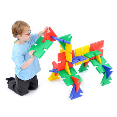 Giant Polyplay Set - Set of 24 Pieces - 85-1015