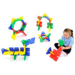 Giant Polyplay Set - Set of 48 Pieces