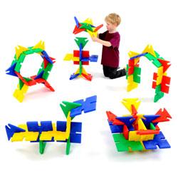Giant Polyplay Set - Set of 72 Pieces