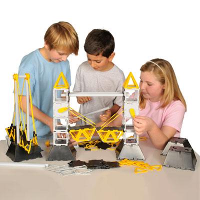 Polydron Bridges Class Set - Set of 322 Pieces - 10-9030
