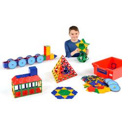 Polydron Super Value Set - Set of 456 Pieces