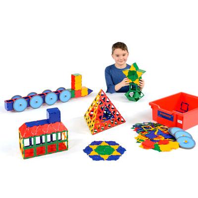 Polydron Super Value Set - Set of 456 Pieces - 10-3010