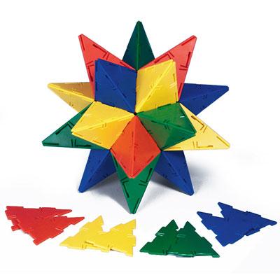 Polydron Isosceles Triangles - Set of 60 - 10-0301