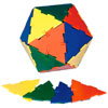 Polydron Large Equilateral Triangles - Set of 50