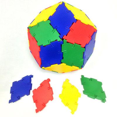 Polydron Rhombus - Set of 40 - 10-0404