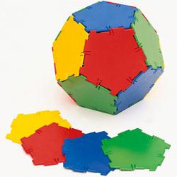 Polydron Pentagons - Set of 24