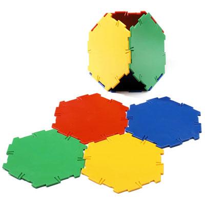 Polydron Hexagons - Set of 20 - 10-0600