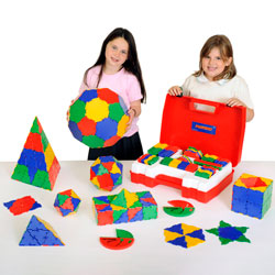 Polydron School Geometry Set - Set of 270 Pieces