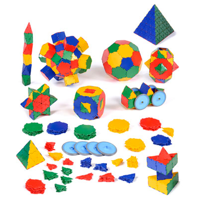 Polydron School Set - Set of 806 Pieces - 10-3400