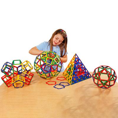 Polydron Frameworks Basic Set - Set of 280 Pieces - 10-3005F