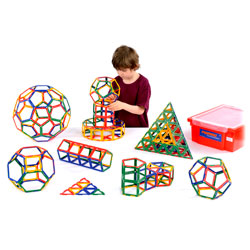 Polydron Frameworks Class Set - Set of 310 Pieces