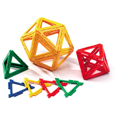 Polydron Frameworks Equilateral Triangles - Set of 160 - 10-F300