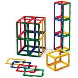 Polydron Frameworks Rectangles - Set of 50