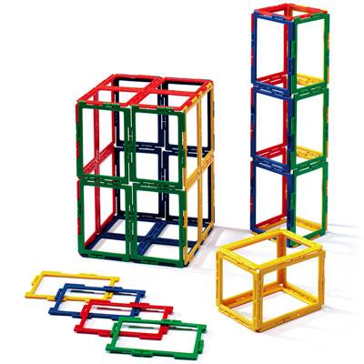 Polydron Frameworks Rectangles - Set of 50 - 10-F405