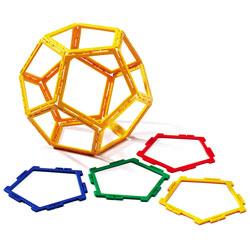 Polydron Frameworks Pentagons - Set of 40
