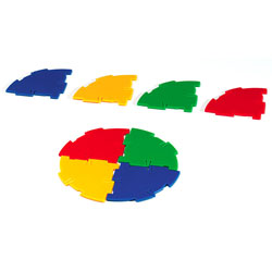 Polydron Sphera Quadrant Pieces - Set of 48