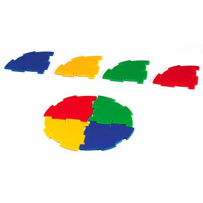 Polydron Sphera Quadrant Pieces - Set of 48 - SP-1002