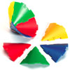 Polydron Sphera Cone Pieces - Set of 32