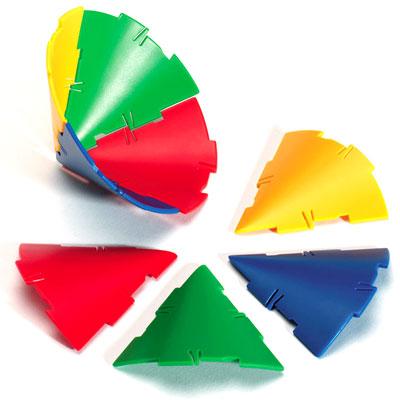 Polydron Sphera Cone Pieces - Set of 32 - SP-1003