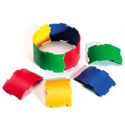 Polydron Sphera Cylinder Pieces - Set of 24