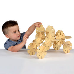 Wooden Octoplay Set - Set of 20 Pieces