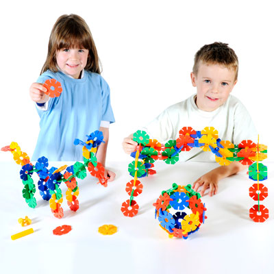 Octoplay Play Pack - Set of 144 Pieces - 10-8010